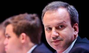 Arkady Dvorkovich, the Fide president