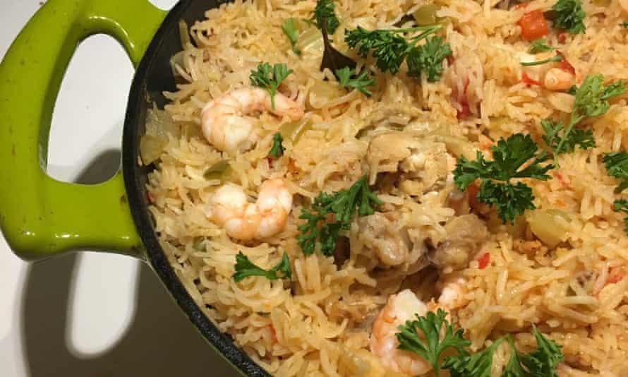 Jambalaya by Jamie Oliver.