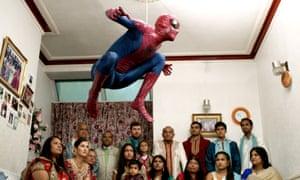 The Jump, 2015, Film Still, Hetain Patel