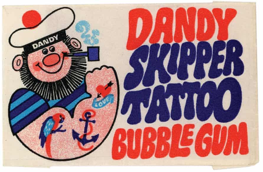 Dandy Skipper Tattoo bubblegum