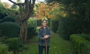 Rosie Bose in her garden