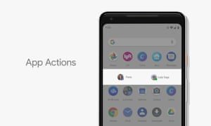Android P is going to try and predict what you want when you want it, whether that's an app or a particular task within an app.