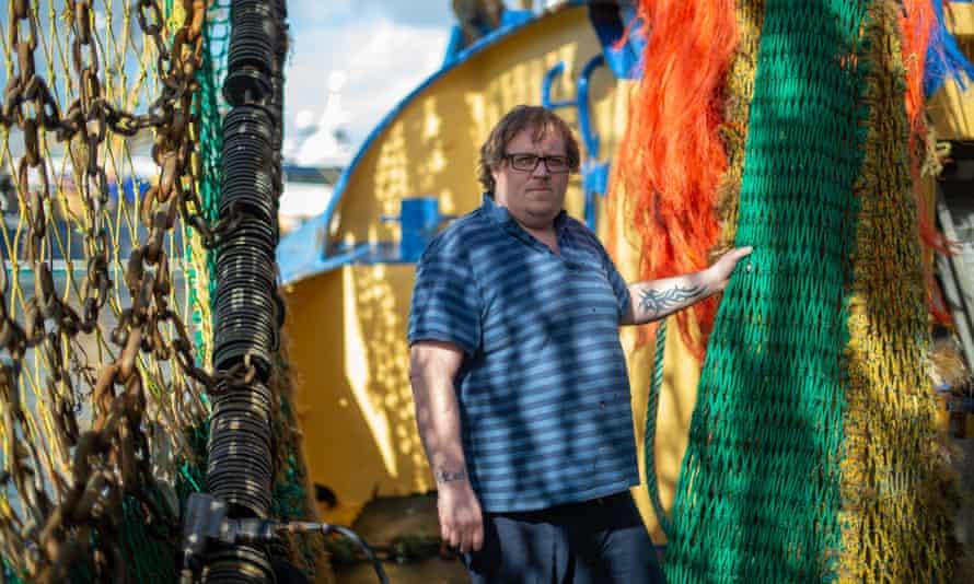 Luke Selvey, a Brixham trawler skipper