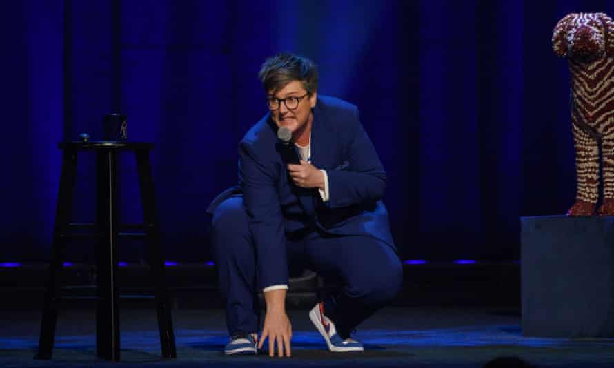 Hannah Gadsby in her Netflix comedy special Douglas.