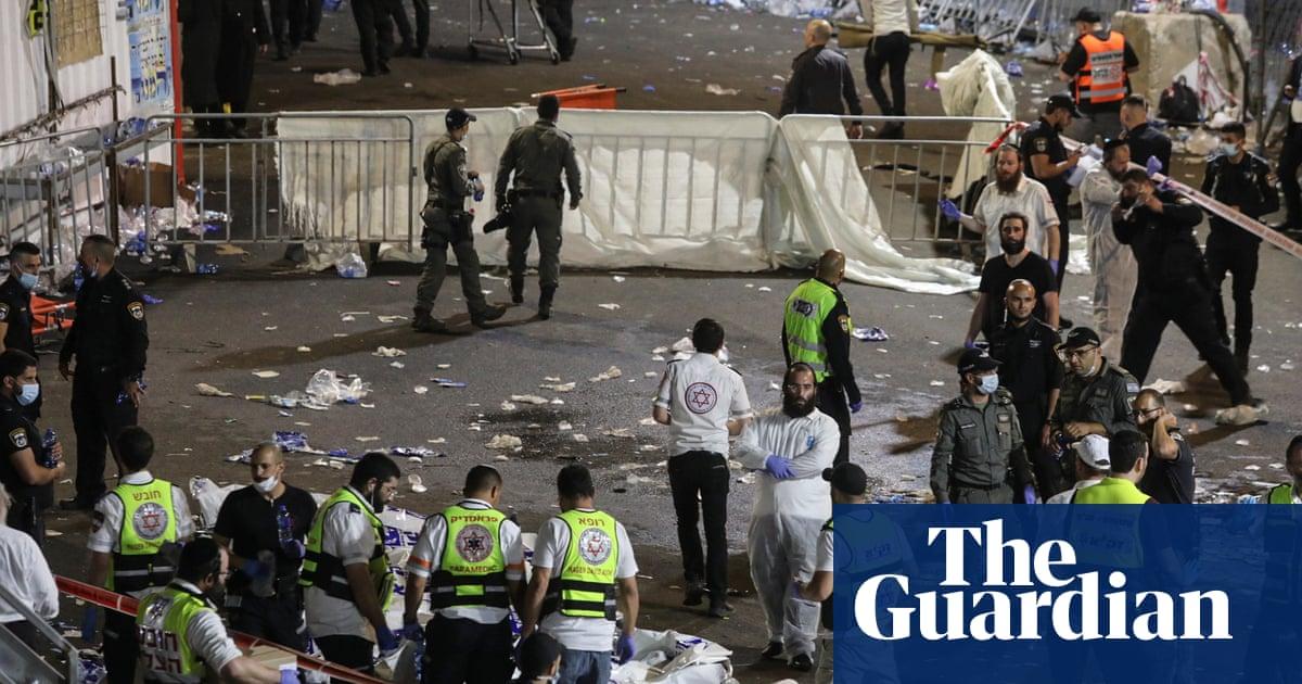Chaotic scenes as crush kills dozens at religious festival in Israel – video