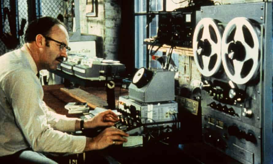 Gene Hackman as Harry Caul in 1974's The Conversation.