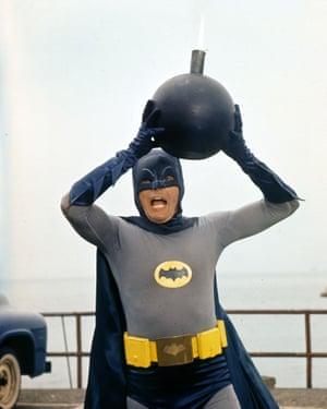 Adam West's Batman saves the day