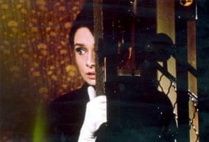 Audrey Hepburn in Funny Face.