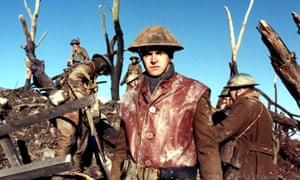 Jonny Lee Miller in a film adaptation of Regeneration (1997).