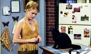 Melissa Joan Hart in Sabrina the Teenage Witch.