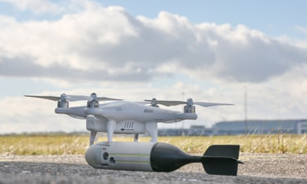 SkyWall drone capture system launcher from OpenWorks Engineering