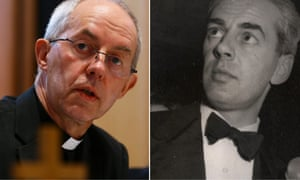 Justin Welby and biological father Anthony Montague Browne