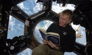 Tim Peake reads Yuri Gagarin's autobiography