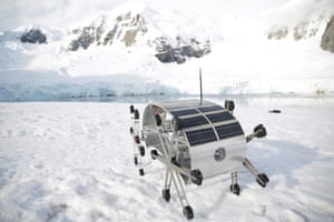 Glaciator robot that went to Antarctica for Quo Artis.