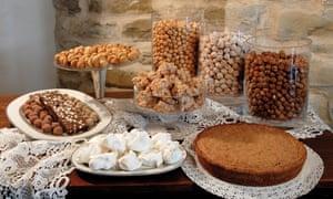 Going nutty: hazelnut treats at pasticceria and hotel La Corte di Canobbio in Cortemilia.