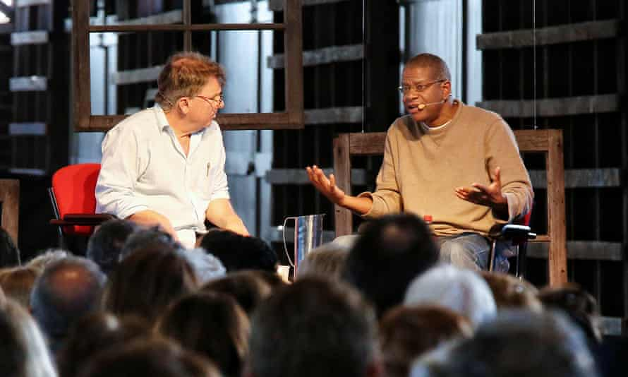 Michael Cathcart and Paul Beatty at Sydney writers' festival