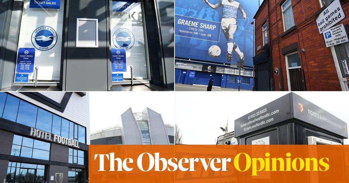 Las buenas acciones de los clubes de fútbol son muy útiles, pero el cierre expone fallas financieras | Paul Wilson | Fútbol americano 58