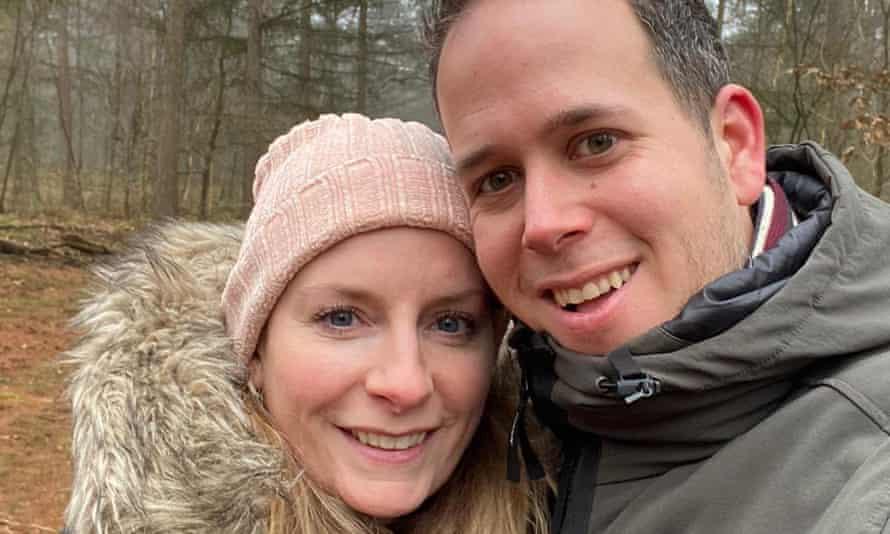 Sarah Chapman et son partenaire Ron Peeters.