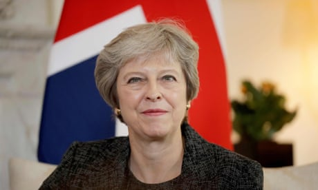 Theresa May dances at South Africa school on first day of