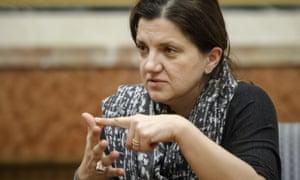 Romanian justice minister Raluca Pruna