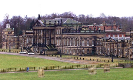 Wentworth Woodhouse, photographed in 1999 when it was bought for £1.5m