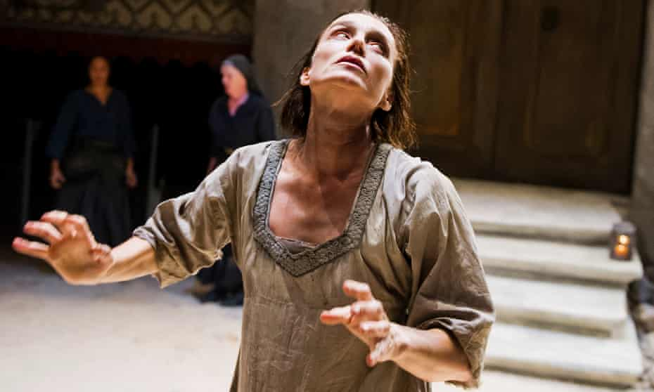 Kristin Scott Thomas as Electra at the Old Vic theatre, London, in one of the many modern stagings and retellings of the ancient Greek legends.
