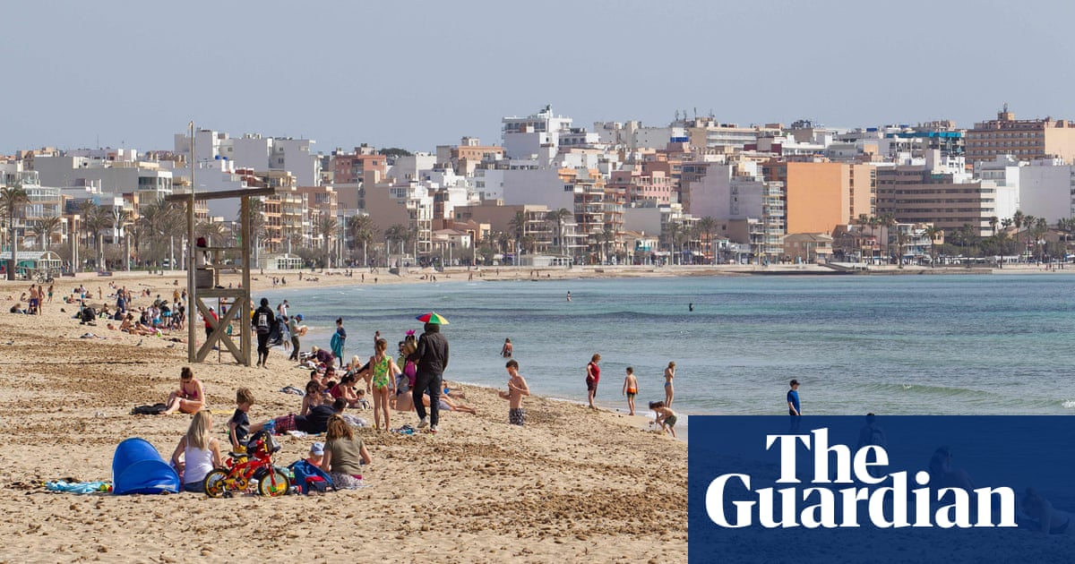 Britons should not be holidaying in Spain yet, says UK minister