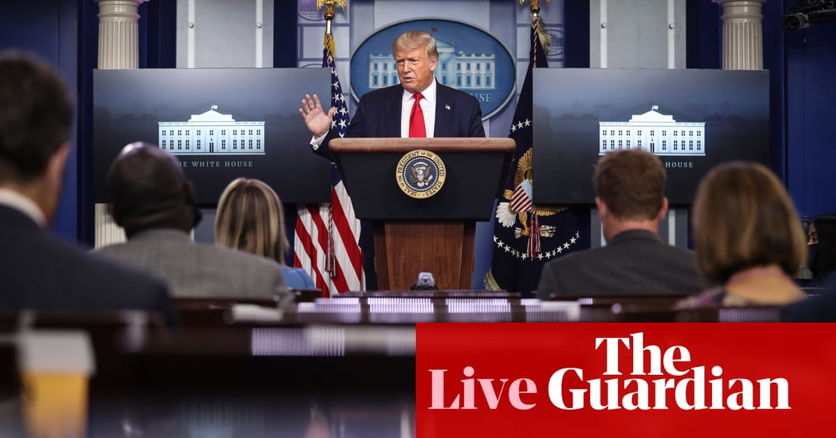 Trump says 'nobody likes me' when asked about Fauci's absence – as it happened – The Guardian