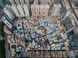 In the 1980s, the city's population was only 30,000, but as the city grew, the small villages of Shenzhen were swallowed by high-rise buildings. Today, these 'urbanised villages' provide affordable housing for nearly half the city's population of 12 million.