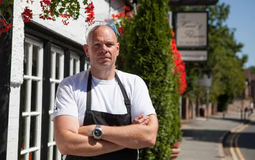 The valiant Tom Kerridge, Saving Britain's Pubs.