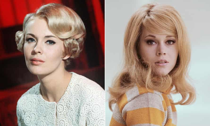 Jean Seberg, left, and Jane Fonda, the fascinating subjects of Jean and Jane.