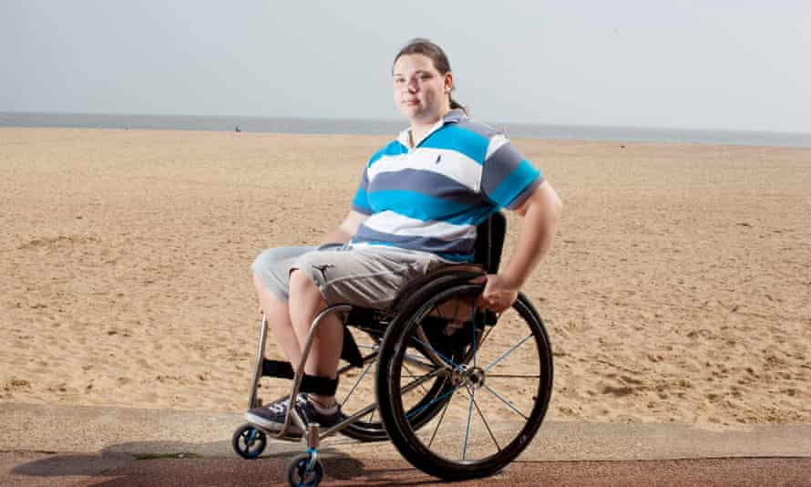 Freya Levy began playing wheelchair basketball in 2010. She now hopes she will be able to be part of Team GB at the Tokyo Paralympics in 2020.