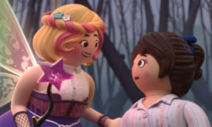 A scene from Playmobil: The Movie.