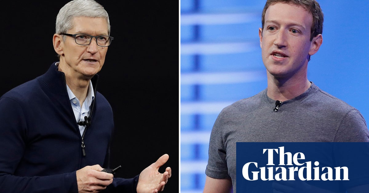 Apple and Facebook at odds over privacy move that will hit online ads