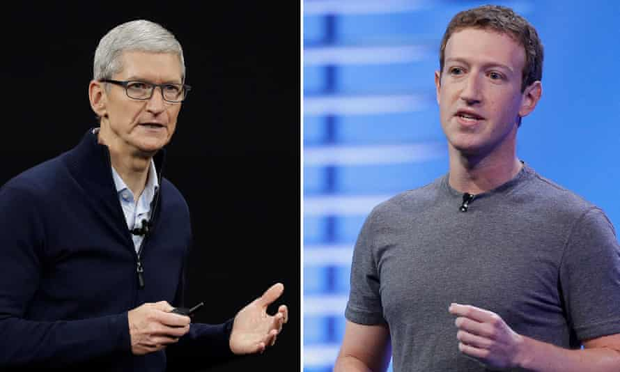 Facebook and Apple have been at odds on several occasions in recent years, often over consumer privacy and Apple's App Store policies.