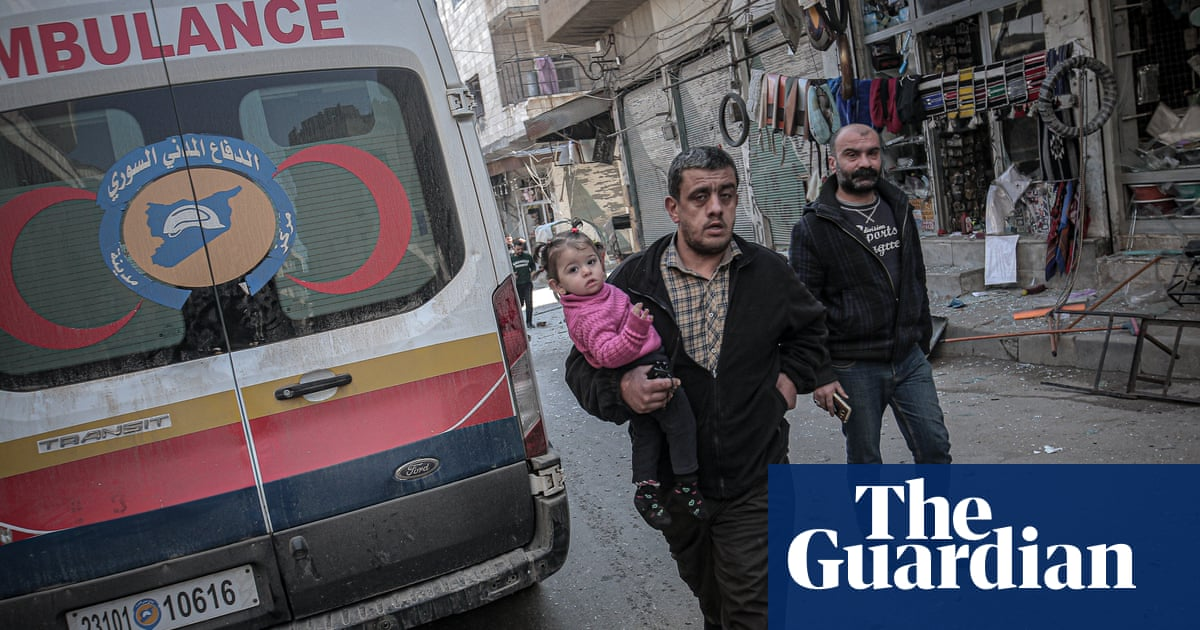 Syria: 21 dead as targets including schools and nurseries bombed in Idlib