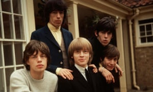 The Rolling Stones in 1964:. Mick Jagger, Bill Wyman, Brian Jones, Keith Richards and Charlie Watts.