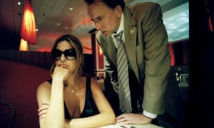 Are you ready to order or would you like a few more minutes?: Eva Mendes and Nicolas Cage in Bad Lieutenant.