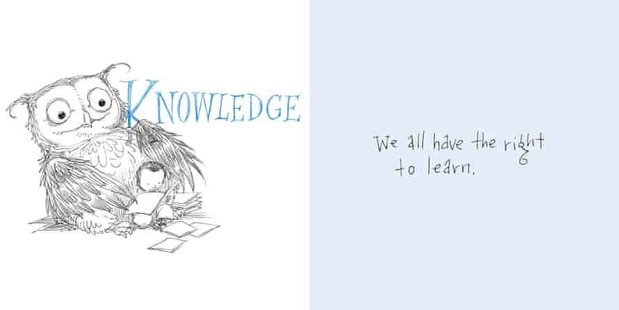 Knowledge from My Little Book of Big Freedoms by Amnesty and Chris Riddell