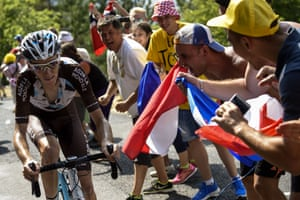 France were hoping they would at last get a victory, Romain Bardet had to settle for third, behind his compatriot Thibaut Pinot