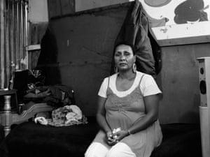 David Goldblatt's photograph 'Here on his bed in 2007 Ellen Pakkies strangled her son Abie'