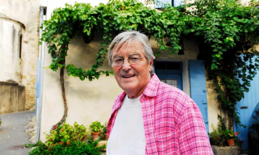 Peter Mayle in Lourmarin, Provence, France, in 2006.