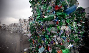 The Closed Loop Recycling plant in London was the first in the UK to produce food grade recycled plastic from bottle waste