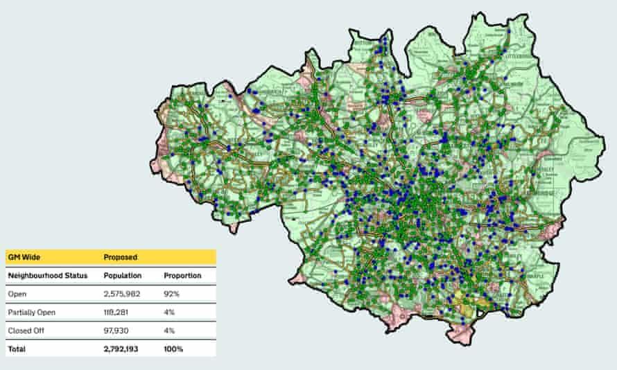 Beelines scheme Manchester - after