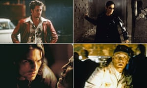Brad Pitt in Fight Club, Carrie Ann-Moss in The Matrix, John Malkovich in Being John Malkovich and Tom Cruise in Magnolia.