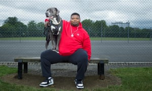 Park life: 'I'm the only black person who's high on national TV.'