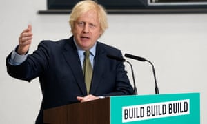 Boris Johnson giving a speech at the Dudley College of Technology