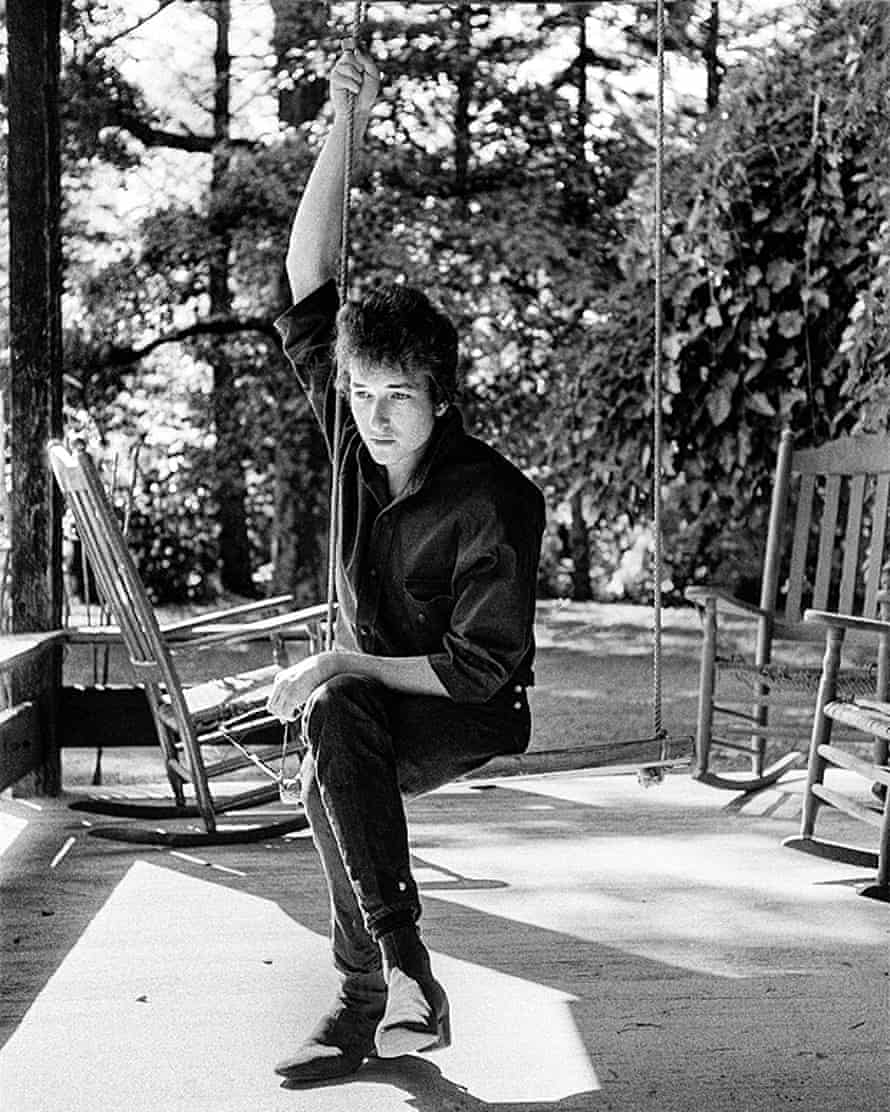 dylan on a swing