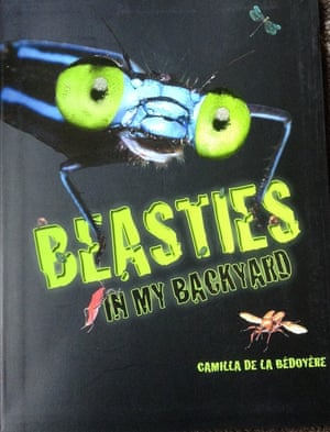 Beasties in my Backyard by Camilla de le Bedoyere