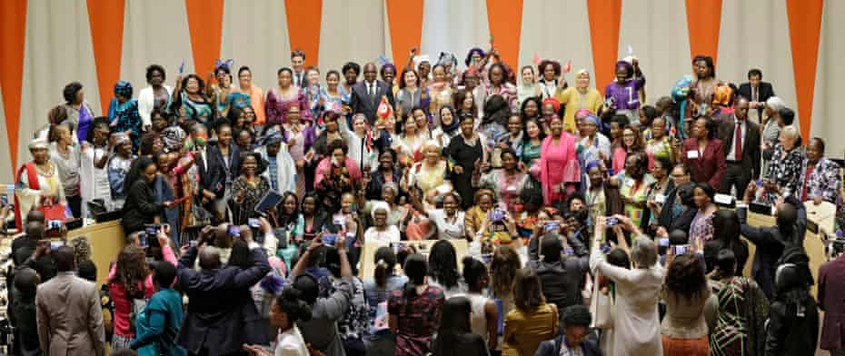 UN Women, the African Union Commission, and the Permanent Mission of Germany have launched the African Women Leaders Network, an initiative that seeks to enhance the leadership of women in Africa.